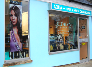 Aqua Hair & Nails in Norwich