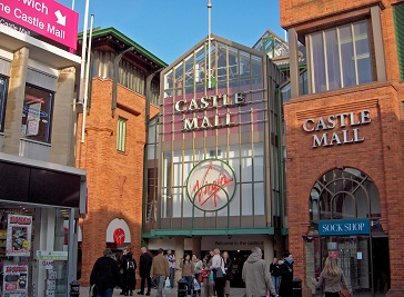 Castle Mall in Norwich