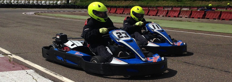 Ellough Park Kart Circuit in Norwich