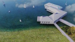 floating eco-resort plan